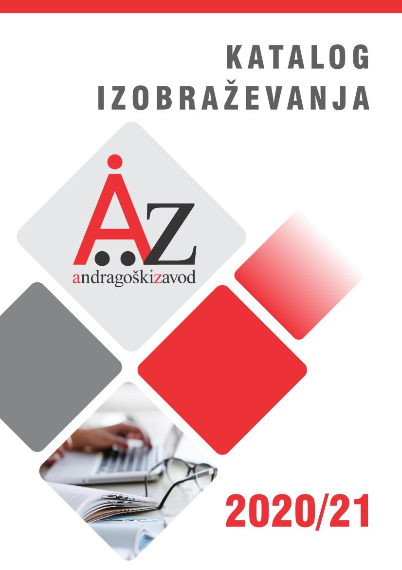 Katalog izobraževanj Andragoškega zavoda Maribor za leto 2020